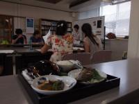 写真:和食を学ぶ