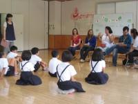 太田市立北三瓶小学校(ブラジルについてQ&A)