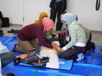 AEDの使い方について学びました