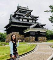 大好きな松江城。数えきれないぐらい足を運びました!
