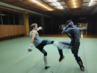 総合格闘技の練習