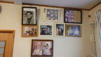 家族の写真がたくさん!