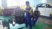 自動車整備の授業