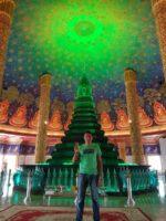バンコクの有名な観光地・ワットパクナム