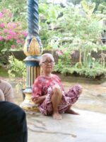 インドネシアにいるおばあちゃん