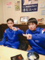 左:リズキさん 右:弟さん
